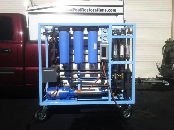 Reverse osmosis pool filtration pool tile cleaning - Swimming pool tile cleaning machine ...